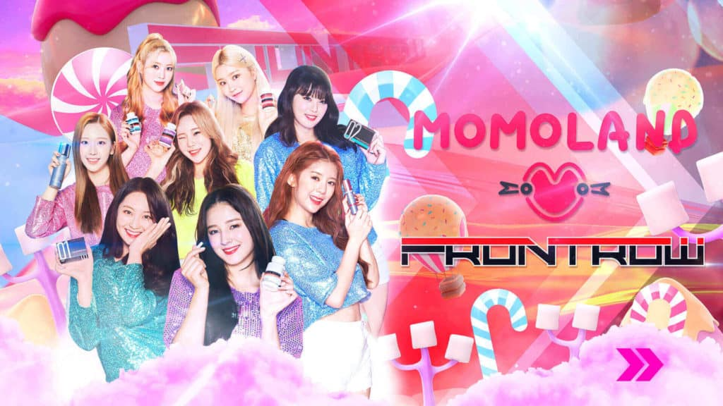 frontrow momoland